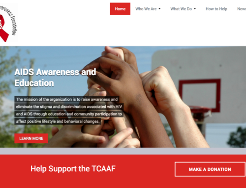 New Website Design to help support the TCAAF