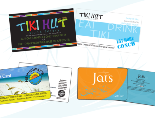 Graphic Design for Gift Cards