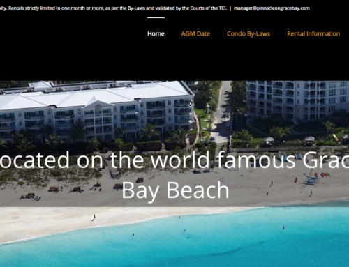 Web Design for Pinnacle Turks and Caicos