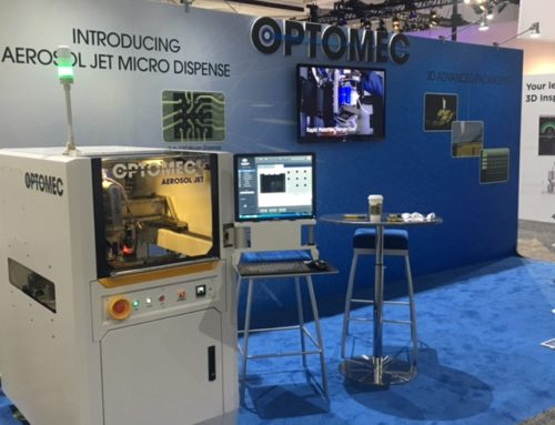 TradeShow Booth Design for Optomec 3D Printing Company